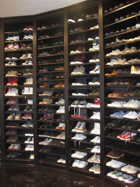shoe storage traditional closet  york  sophisticated storage solutions custom closets