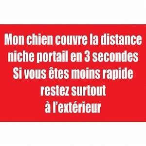 Panneau Attention Au Chien : panneau attention au chien avec texte humoristique ~ Farleysfitness.com Idées de Décoration