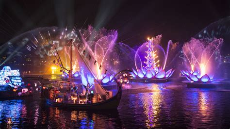 Disney Light Show look rivers of light at disney s animal kingdom