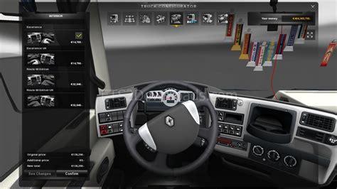 renault truck interior renault magnum interior for ets2 1 9 22 euro truck