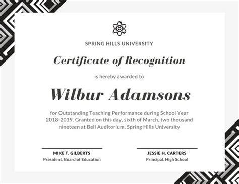 customize  school certificate templates  canva
