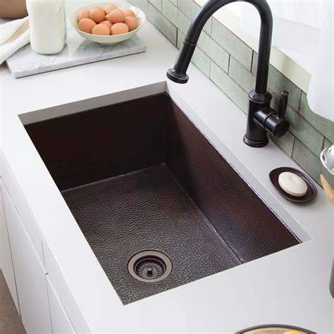 cocina   copper kitchen sink native trails