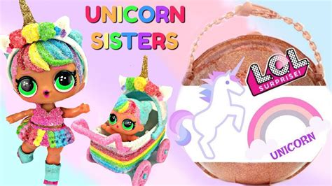 finding lol big surprise glitter custom unicorn lil sister  stroller youtube