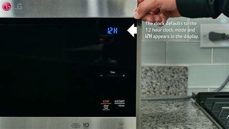 Kitchen Timer Translation by Lg Neochef Setting The Clock Kitchen Timer