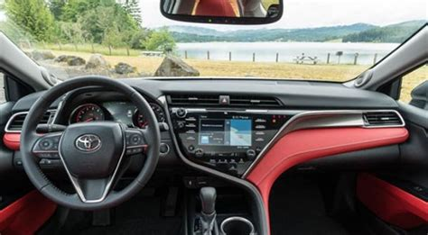 toyota camry interior  exterior color options