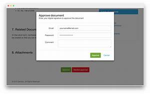 software With document approval software