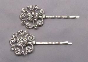Rhinestone Bobby Pins Crystal Hair Pins Decorative