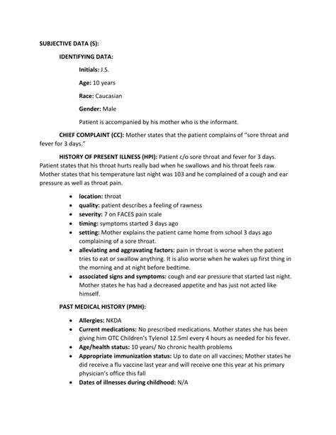4 year old well child exam form pediatric history and physical template choice image