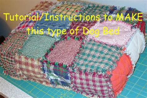 ashlawnfarms rag quilt dog bed dog bed tutorial diy