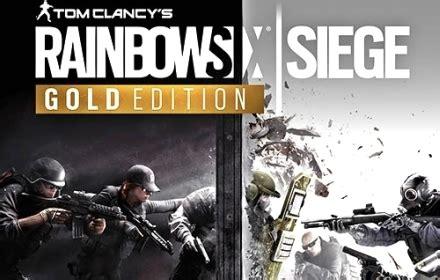 tom clancys rainbow  siege gold edition year