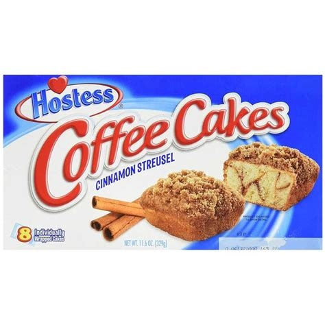 Hostess cinnamon streusel coffee cakes have a soft texture and are made with no trans fats. Hostess - Coffee Cakes Cinnamon Streusel - 1 x 329g ...