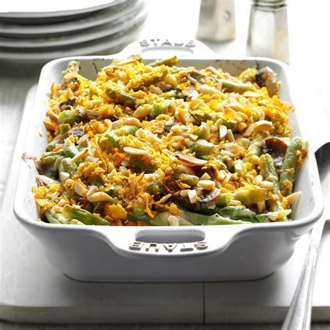 holiday green bean casserole recipe taste  home