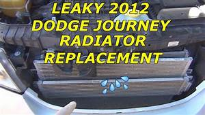 How To Replace Radiator On A 2012 Dodge Journey