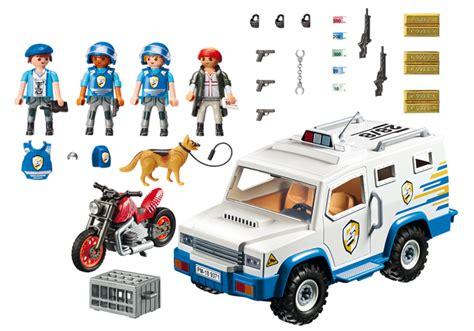 playmobil  vehiculo blindado la caja de los clicks