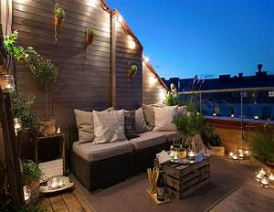 decorar tu terraza patio o jardin con soluciones lowcost With ordinary amenagement terrasse exterieure design 5 20 idees pour la pergola design sur le toit
