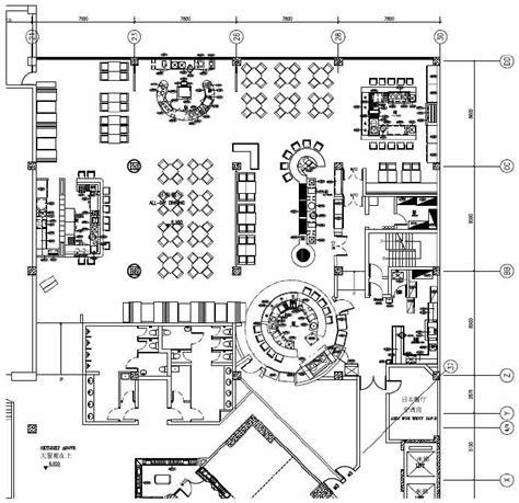 kitchen dining room floor plans 小型餐饮空间平面图 装修图库
