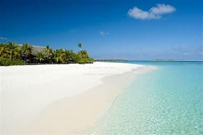 Bora Sand Tropical Exotic Maldives Atoll Iruveli