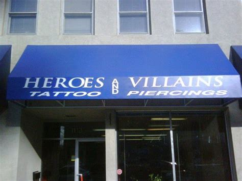 Heroes And Villiains Tattoo