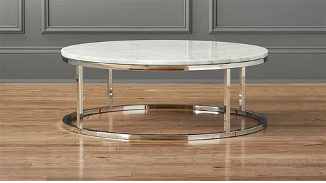 Smart Round Marble Top Coffee Table + Reviews