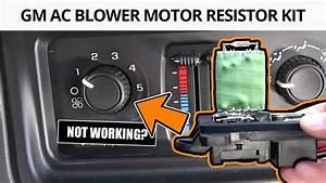 How To Fix Fan Speed Control On 2004 Silverado Sierra