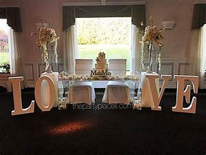large prop letters designs the party place li the With letter table base rental nyc