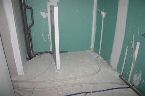 evacuation humidite salle de bain plomberie et planchers chauffants