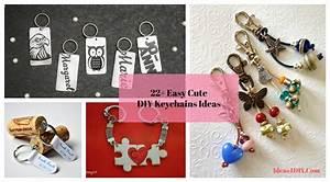 22+ Easy & Cute DIY Keychains Ideas