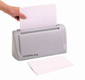 martin yale paper folders letter folders and folder With automatic letter folder and stuffer