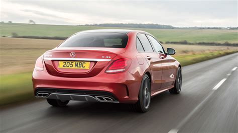 mercedes c43 amg mercedes amg c43 saloon 2017 review by car magazine