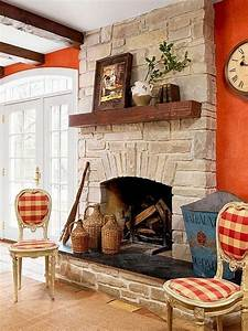 35, Awesome, Farmhouse, Fireplace, Design, Ideas, To, Beautify, Your, Living, Room
