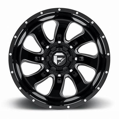Dually Flow Rear Fuel Wheels D269 Forged
