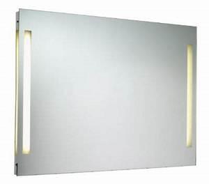 Miroir Castorama Salle De Bain : miroir clairant nile 90 cm castorama ~ Melissatoandfro.com Idées de Décoration