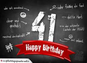 sprüche 50 geburtstag komplimente geburtstagskarte zum 41 geburtstag happy birthday geburtstagssprüche welt