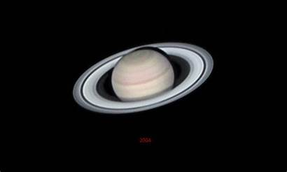 Saturn Rings Animation Ring Disappear Earth Planet