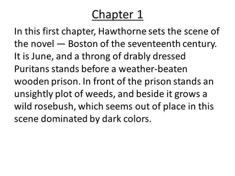 the scarlet letter chapter summaries beautiful the scarlet letter chapter summaries cover 28767