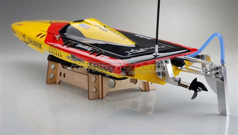 Rc Boat Hardware Package by Exceed Racing Electric Powered Fiberglass Shark 650ep Boat Kit