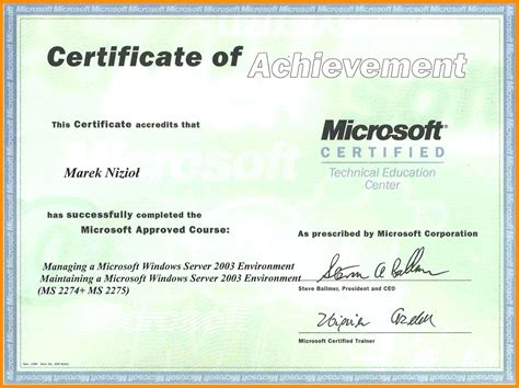Ms Word Certificate Template Template Ms Word Certificate Template