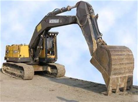 akerman volvo ec  specifications technical data