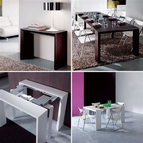Small Space Solutions: 12 Cool Pieces of Convertible Furniture   Convertible Furniture, Dining