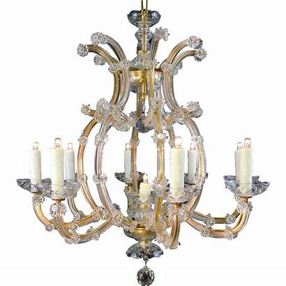 Maria Theresa Crystal Bohemian Chandelier Ruby