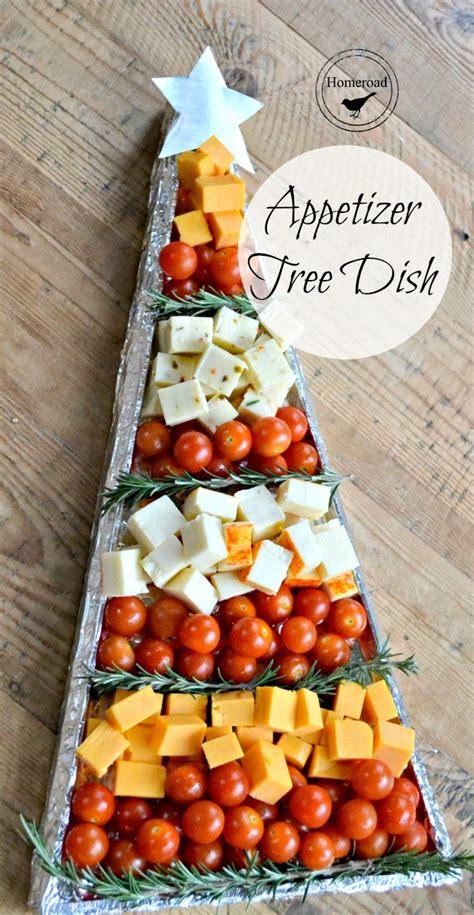 christmas appetizer tree diy tray