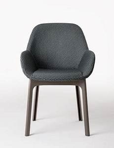 Stühle Mit Stoffbezug : clap mit stoffbezug kartell sessel ~ Markanthonyermac.com Haus und Dekorationen
