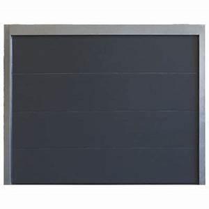 bien porte de garage sectionnelle castorama 12 porte de With porte de garage sectionnelle anthracite