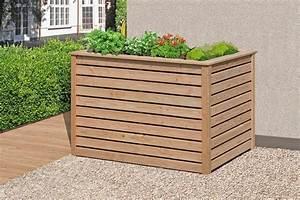 Wpc Hochbeet Selber Bauen : delta gartenholz hochbeet l rche art 61050 ~ Buech-reservation.com Haus und Dekorationen