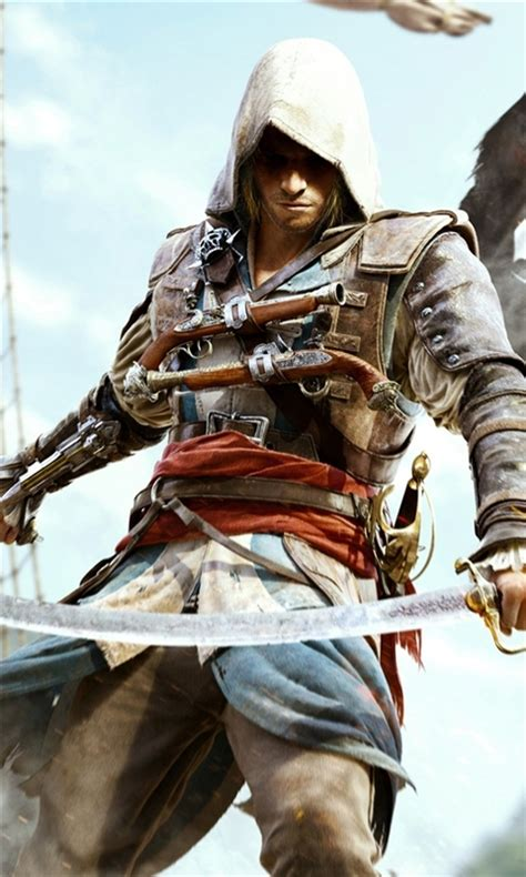 Follow the vibe and change your wallpaper every day! Assassin's Creed 4 Black Flag Windows Phone Wallpaper | FreeWPWallpapers