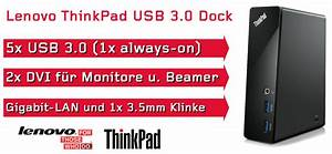 Zwei Monitore Verbinden : thinkpad usb 3 0 docking station ebay ~ Jslefanu.com Haus und Dekorationen