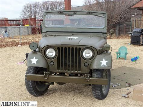 military jeep willys for sale armslist for sale 1954 m38a1 willys army jeep