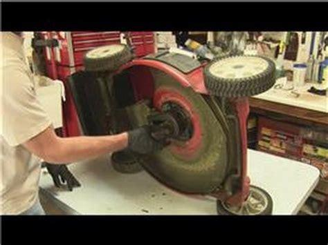 lawn mower repair   replace  drive belt