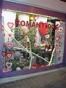 Vitrine Saint Valentin : ma tre artisan fleuriste vitrine saint valentin ~ Louise-bijoux.com Idées de Décoration