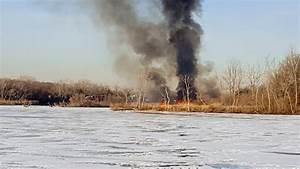 VIDEO: Rockville Centre Firefighters battle brush fire in ...